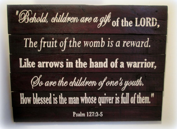 Children gift of Lord
