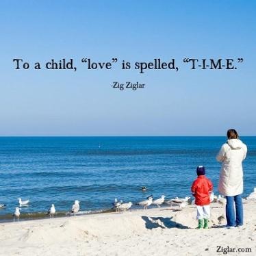 time-child zig ziglar quote