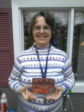 Plaque Received from Winning Neighborhood Decorating Contest