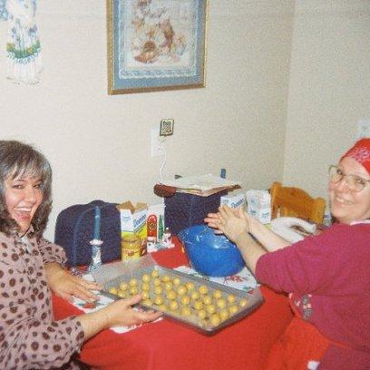 Making Soy Butter Balls!