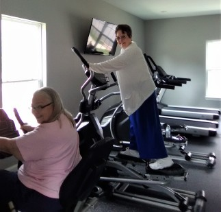 """Mariea says, """"You're never too old to start exercising."""""""