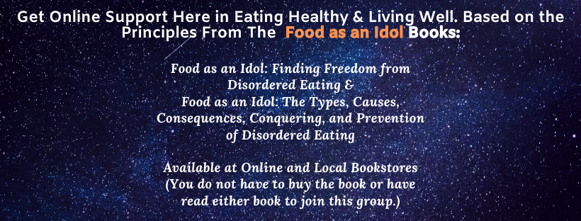 Food as an Idol Support Group Banner